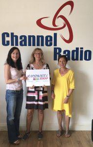 Dandelion Time in the Channel Radio Studio