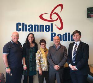 Channel Radio studio picture